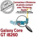Samsung Galaxy Core GT i8260 C Nappe Microphone Chargeur Qualité ORIGINAL Charge Prise MicroUSB RESEAU OFFICIELLE Connecteur Antenne