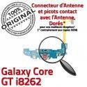 Samsung Galaxy Core GT i8262 C Connecteur Microphone RESEAU Charge Prise Antenne Qualité Chargeur ORIGINAL Nappe OFFICIELLE MicroUSB