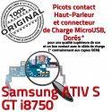 Samsung ATIV S GT i8750 C Connecteur Microphone MicroUSB Charge RESEAU Prise ORIGINAL Chargeur OFFICIELLE Antenne Qualité Nappe
