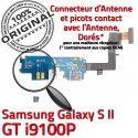 Samsung Galaxy S2 GT i9100P C Charge Antenne Microphone Nappe OFFICIELLE Connecteur Prise Chargeur Qualité MicroUSB RESEAU ORIGINAL