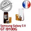 Samsung Galaxy S2 GT i9100G P Arrêt SLOT Bouton Connecteur Circuit Pin Switch à ORIGINAL Dorés Contacts Nappe 2 souder S Connector OR Marche