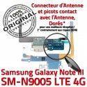 Samsung Galaxy NOTE3 SM N9005 C ORIGINAL LTE OFFICIELLE Qualité Antenne Chargeur MicroUSB RESEAU Microphone Nappe Charge Connecteur
