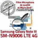 Samsung Galaxy NOTE3 SM N9006 C MicroUSB Microphone Nappe Antenne Qualité RESEAU Connecteur Chargeur Charge ORIGINAL LTE OFFICIELLE