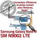 Samsung Galaxy NOTE3 SM N9002 C RESEAU OFFICIELLE Chargeur ORIGINAL Antenne Qualité Charge Nappe Connecteur LTE Microphone MicroUSB
