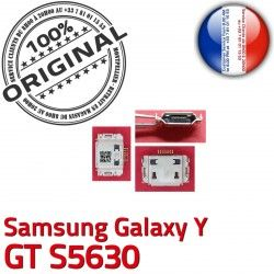 s5630 souder ORIGINAL Galaxy Dock de Connecteur Connector C Prise Y charge USB GT Pins Flex Dorés à Micro Chargeur Samsung