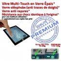 PACK iPad 3 A1430 Joint N Bouton PREMIUM Adhésif Chassis Tablette Réparation Verre Tactile Cadre Apple Noire iPad3 Precollé KIT Vitre HOME