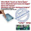 PACK A1459 Joint Nappe B Bouton Vitre Precollé Tablette Adhésif KIT Apple HOME Verre Réparation Plastique Blanche Contour iPad4 Cadre Tactile