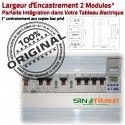 Minuterie Chauffage 16A DIN électrique 4kW Electronique Rail Digital Programmation Tableau Automatique Journalière 4000W