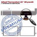 Samsung Galaxy TAB E SM-T560 N T560 Noire Qualité Metal Noir Ecran Metallic Assemblée Vitre Adhésif TAB-E PREMIUM Prémonté 9.6 SM Tactile Verre