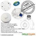 Capteur de Présence SINOPower Lampe Éclairage Mouvement LED Automatique Économie Ampoules Hyper Luminaire Micro-Ondes énergie 360° Détecteur Fréquence HF
