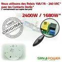Capteur Hyperfréquence SINOPower 360° de Ampoules Éclairage Micro Mouvement Détection Radar Automatique LED Luminaire Micro-Onde Relais HF